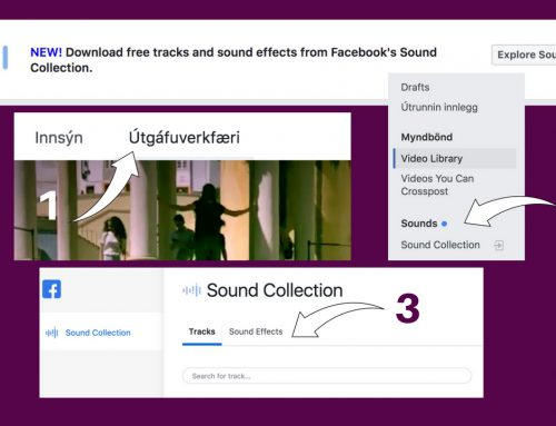 Facebook nú með ókeypis hljóðsafn