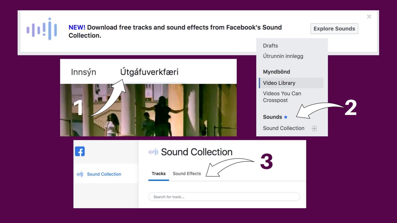 Facebook hljóðsafn