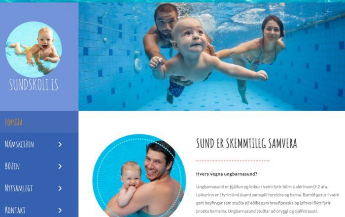 sundskoli.is, webpage, webmom.eu